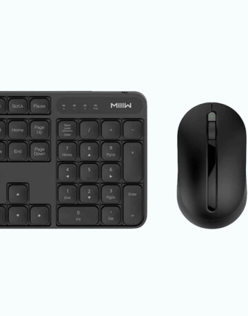 Essential Accessories - Xiaomi MIIIW Wireless Office Keyboard & Mouse